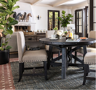 Country/Rustic dining room