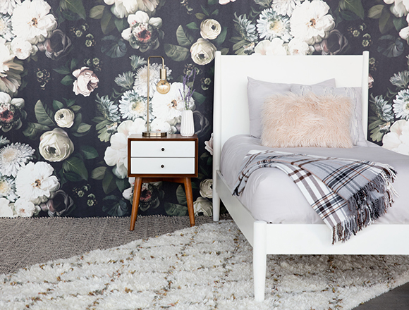 Boho Kids room with Alton bed