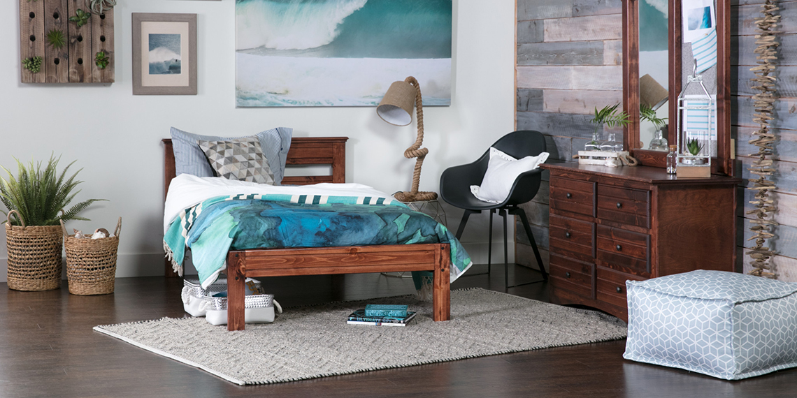 Coastal Kids Bedroom with Sedona bed