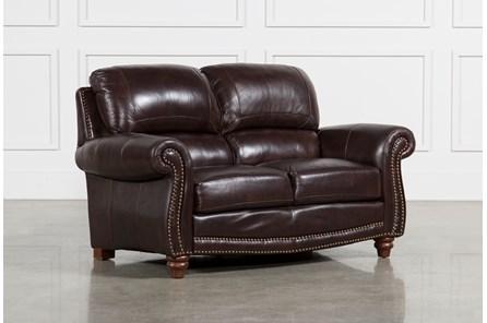 Beckett Leather Loveseat