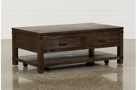 Livingston Cocktail Table W/Drawers