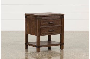 Livingston 2-Drawer Nightstand