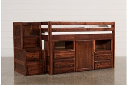 Sedona Junior Loft Storage Bed With Junior Stair Chest