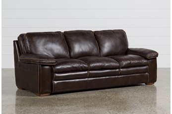 Walter Leather Sofa