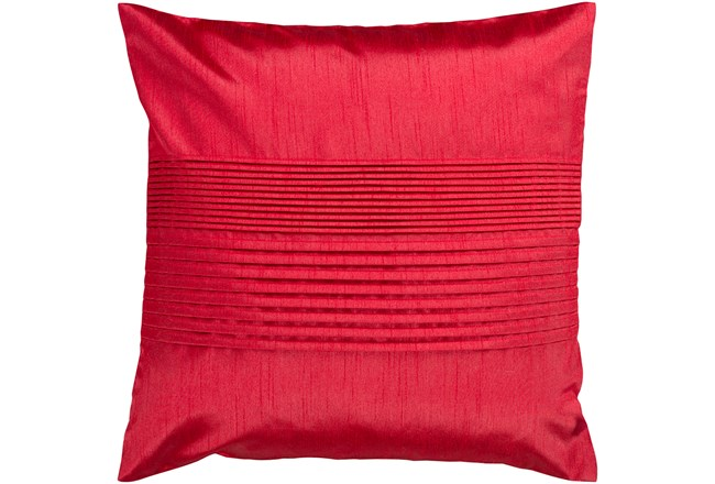 Accent Pillow-Red 18X18 - 360