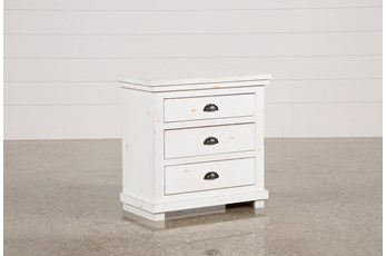 Sinclair White Nightstand