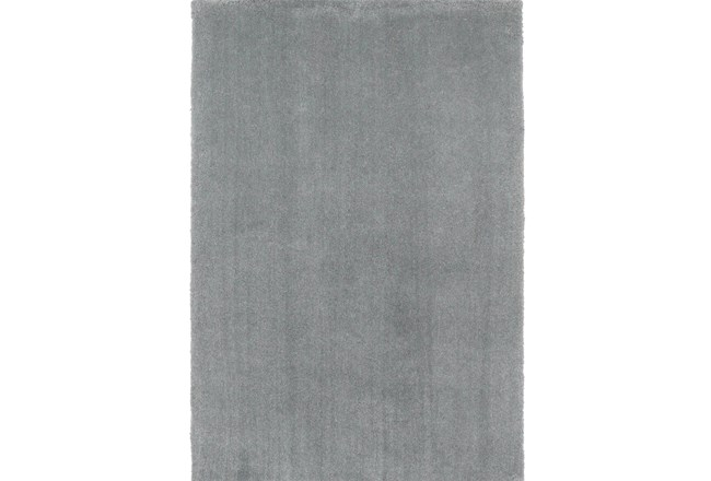 90X114 Rug-Elation Shag Grey - 360