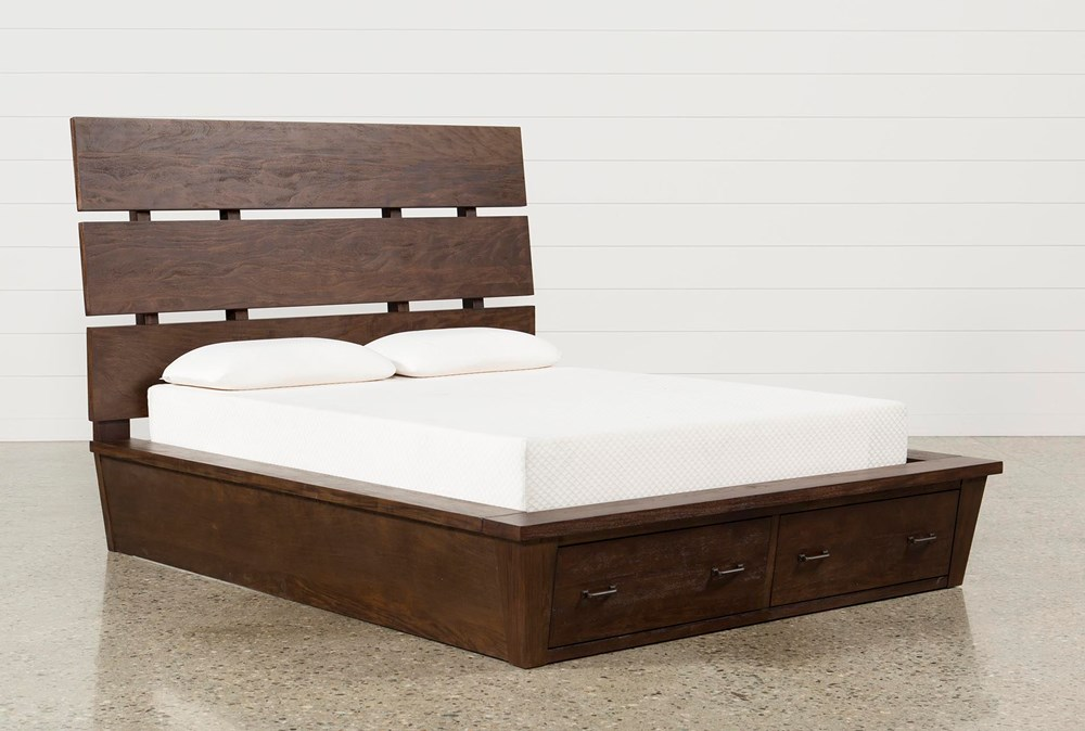 Livingston Queen Storage Bed