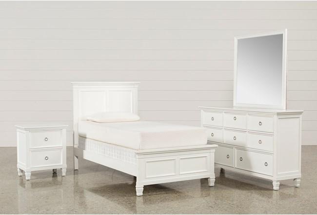 Albany Twin 4 Piece Bedroom Set - 360