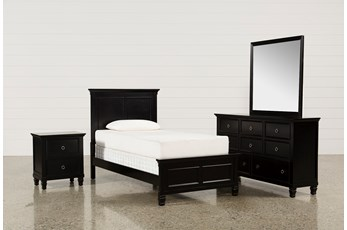 Savannah Twin 4 Piece Bedroom Set
