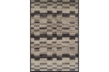 94X127 Rug-Ezra Grey Midnight