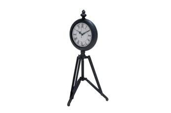 Metal Tripod Clock