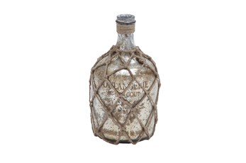 Glass Jute Bottle