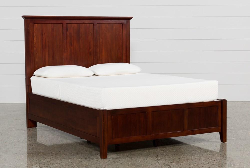 Copenhagen Brown Queen Panel Bed