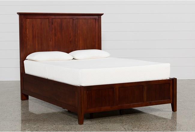 Copenhagen Brown Queen Panel Bed - 360