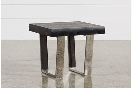 Bateau Grey End Table
