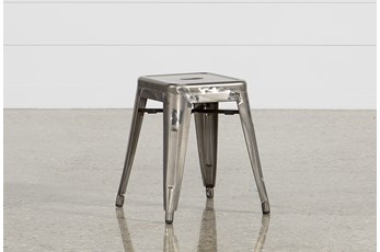 Cooper 18 Inch Metal Backless Stool