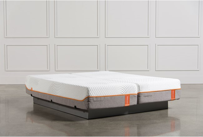 Tempur-Pedic Contour Rhapsody Luxe Cal King Split Mattress Set - 360