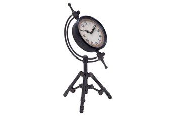 14 Inch Metal Tripod Clock