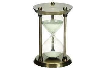 9 Inch Metal & Glass 30 Min Hourglass
