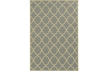 63X90 Outdoor Rug-Montauk Grey