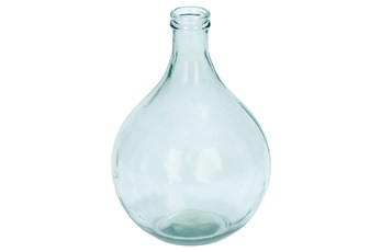 17 Inch Wide Glass Vase