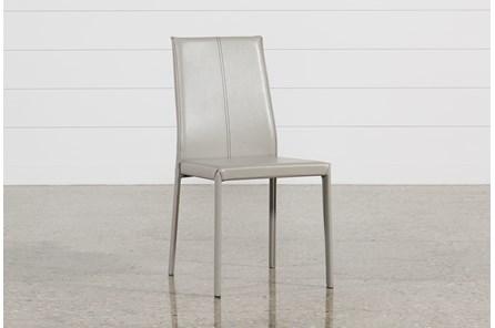 Renata Grey Side Chair
