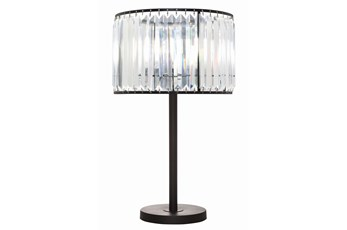 Table Lamp-Wells Crystal