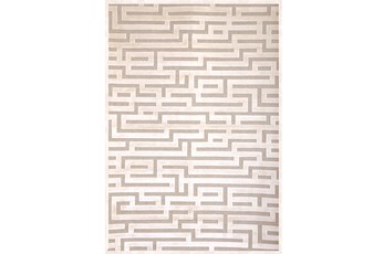63X90 Rug-Maze Ivory