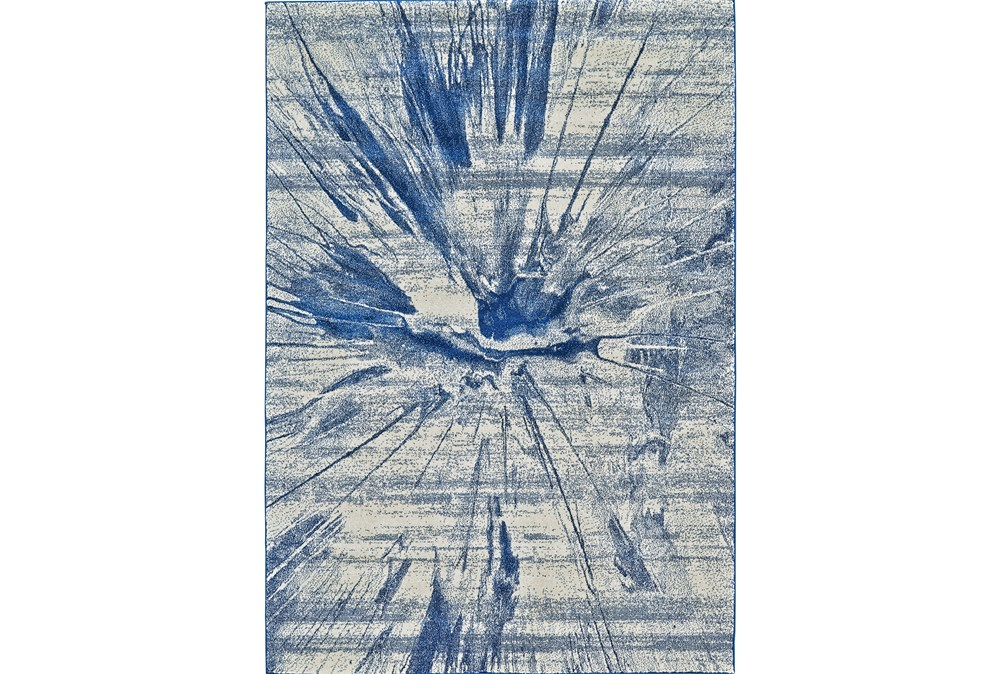 60X96 Rug-Lochlan Cobalt