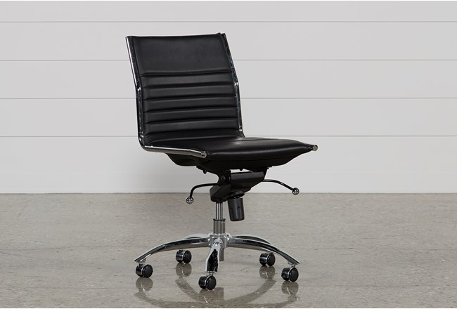 Fraser Black Office Chair - 360