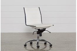 Fraser White Office Chair