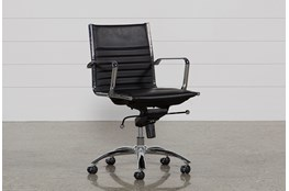 Morgan Black Office Chair