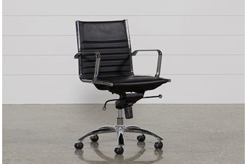Morgan Black Office Chair