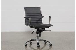 Morgan Grey Office Chair