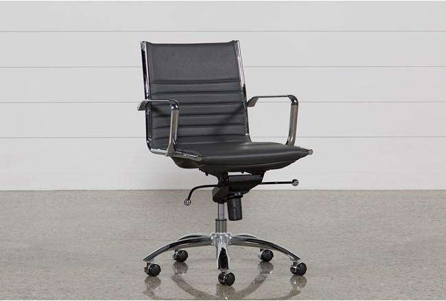 Morgan Grey Office Chair - 360