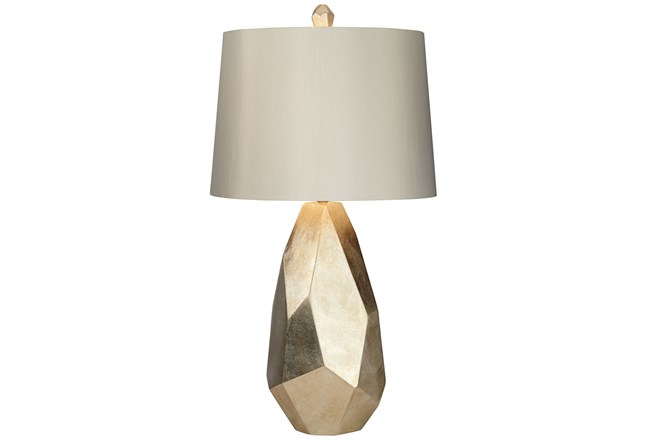 Table Lamp-Faceted Gold - 360