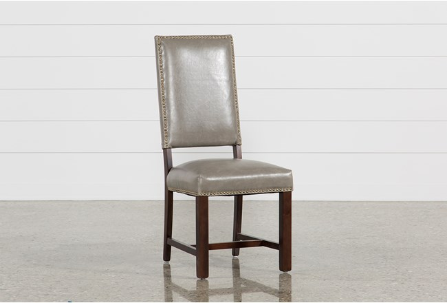 Hadley Pewter Side Chair - 360