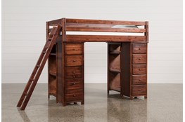 Sedona Loft Bed With 2 Chests