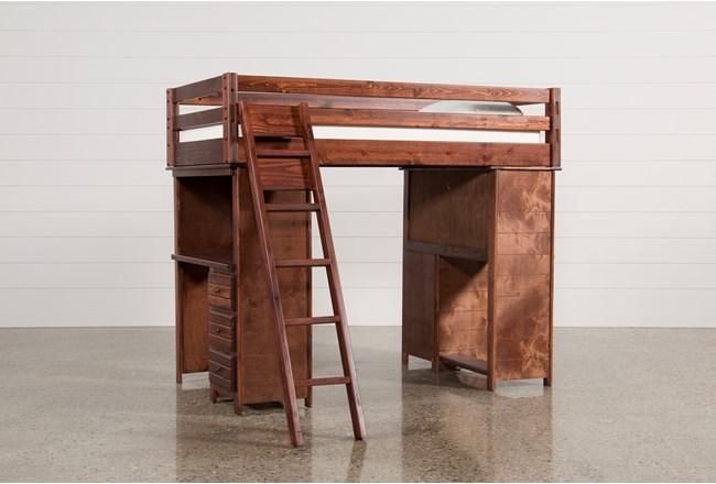 Sedona Loft Bed With 2 Desks - 360