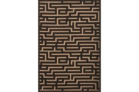 93X128 Rug-Maze Grey