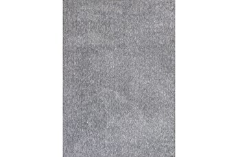 90X114 Rug-Elation Shag Heather Grey