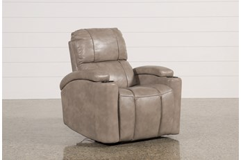 Dempsey Stucco Power Recliner