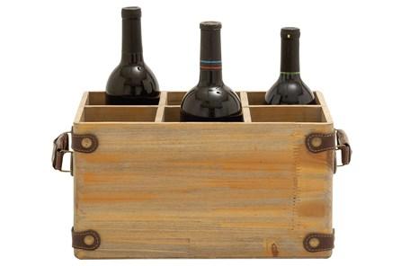 Wooden Wine Caddy