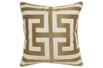 Accent Pillow-Estate Bronze 22X22