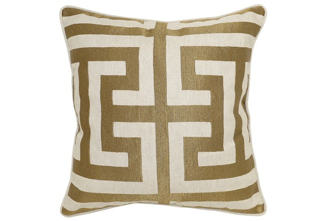 Accent Pillow-Estate Bronze 22X22 - 360