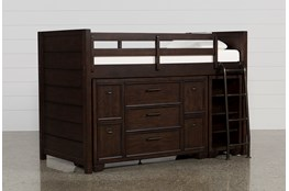 Elliot Twin Junior Storage Loft Bed