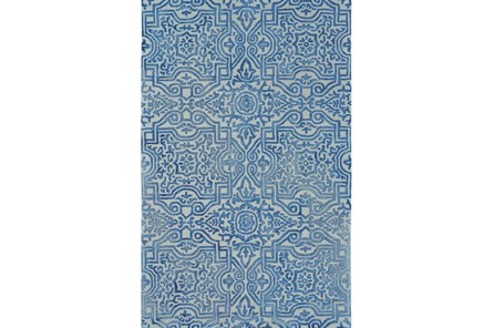 96X132 Rug-Camryn Midnight Blue