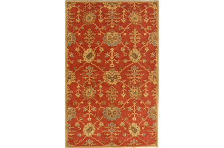 96X132 Rug-Callaby Red