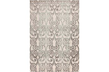 91X127 Rug-Ketton Grey Paisley